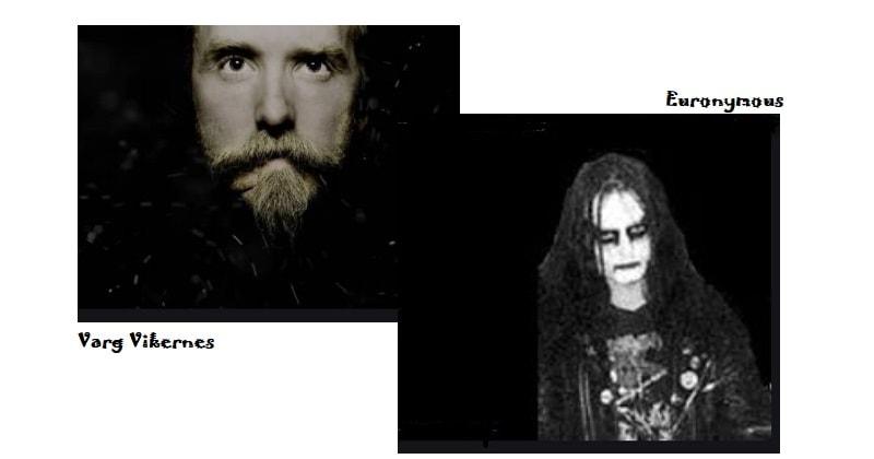 Controversias Bandas de artistas Rockeros - Varg Vikernes vs Euronymous