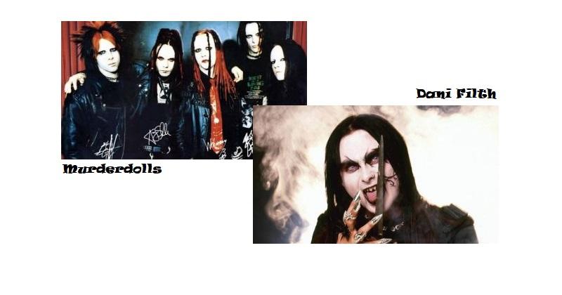Peleas del Metal - Murderdolls vs Dani Filth