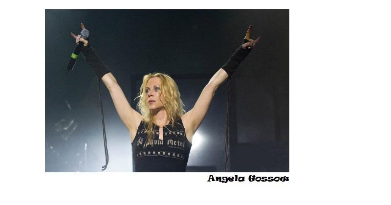 Controversias artistas roqueros - James Gill vs Angela Gossow