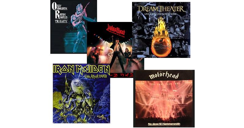 Top 5 discos de heavy metal
