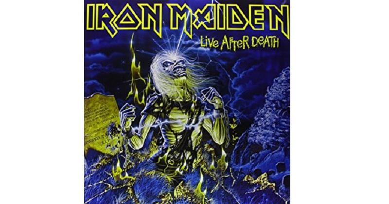 Iron Maiden - Live After Death (quizá el mejor live del heavy metal de todos los tiempos)