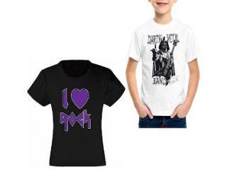 Camisetas para niños y niñas