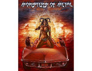 Caratula del vídeo de monsters of metal