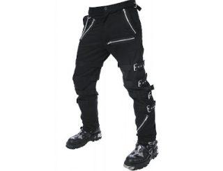 Pantalone roqueros con cremalleras