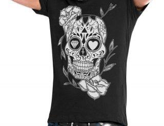 Camisetas de calaveras para hombre