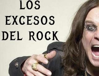 Los excesos del rock